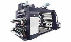 Stack Type 4 Colors High Speed Flexographic Printing Machine